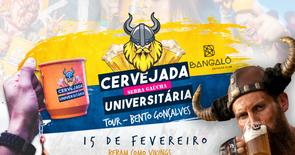 Cervejada UNIVERSITÁRIA Tour Bento Gonçalves